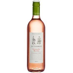 Les Vignerons Grenache Merlot Rose Frankrijk