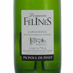 Domaine Felines Picpoul de Pinet Frankrijk etiket