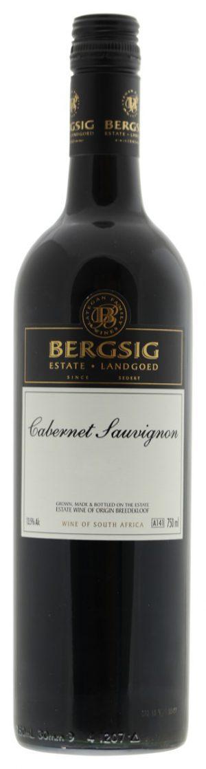Bergsig Estate Cabernet Sauvignon